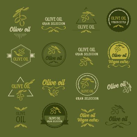 Olive oil, design concept. Great selection. Illustration