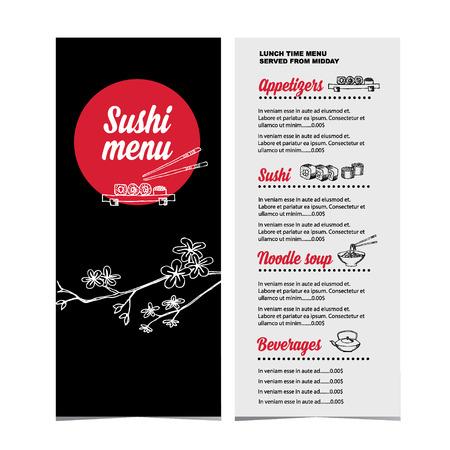 speisekarte: Restaurant-Caf�-Men�-Vorlage design.Vector Abbildung.