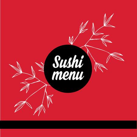 newspaper roll: Restaurant cafe menu, template design.Vector illustration. Illustration