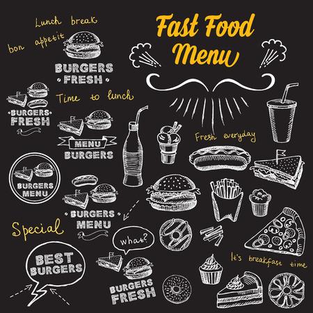 Restaurant cafe menu, sjabloon ontwerp