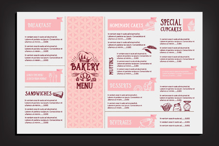 alcohol logo: Restaurant cafe menu, template design. Food flyer. Illustration