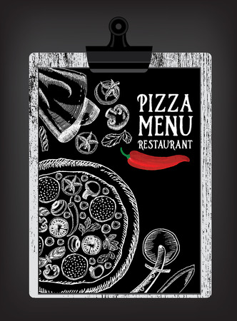 dinner party people: Cafe menu restaurant brochure. Food design template.