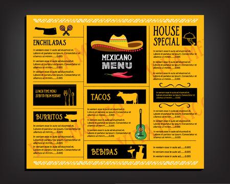 Cafe Menu Restaurant Brochure. Food Design Template. Royalty Free