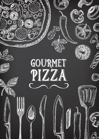food and drinks: Cafe menu restaurant brochure. Food design template.