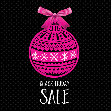 shoping: Vector black friday poster. Holiday background and sale design banner. Vector template with shopping tag.