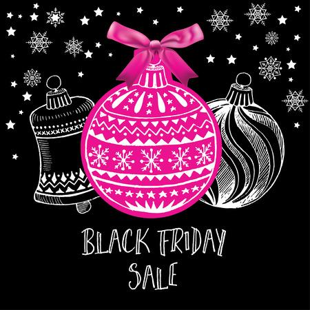 rosa negra: Vector negro poster Viernes. Vacaciones de fondo y venta diseño de banners. Modelo del vector con la etiqueta de compras.