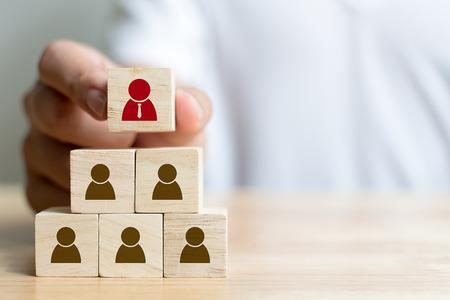 gestion des ressources humaines et recrutement concept d & # 39 ; entreprise
