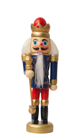 christmas nutcracker toy soldier traditional figurine isolated on white background stock photo 96437079 - Christmas Soldier