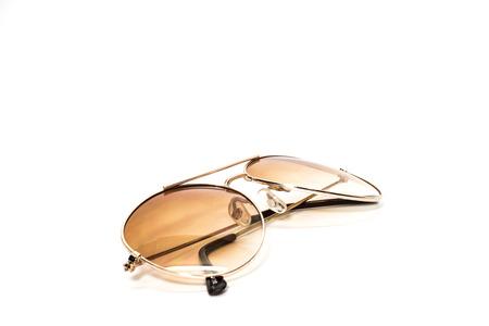 sun glasses on white background   Stock Photo