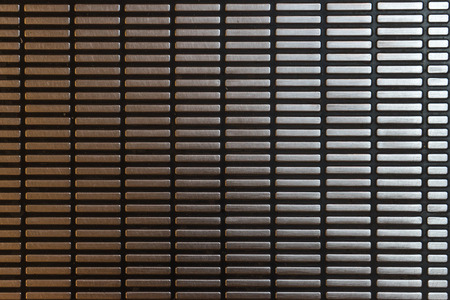 corrugation: Steel Wall  Stock Photo