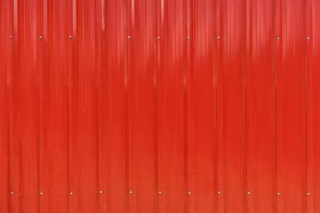Red cargo ship container texture Stock Photo