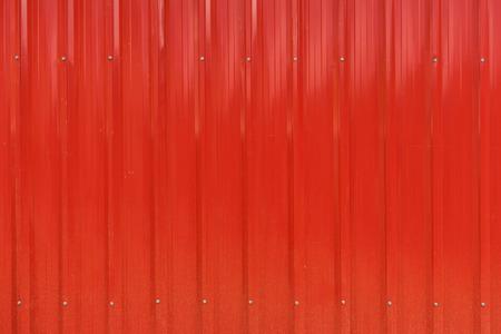 Red cargo ship container texture Archivio Fotografico