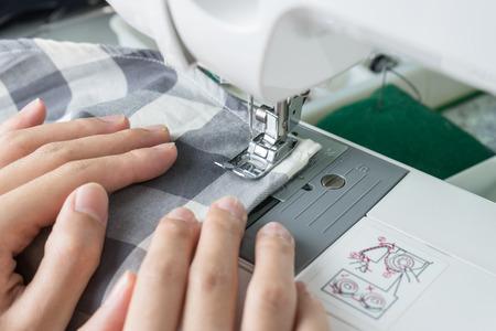 stitchwork: Sewing Process , the sewing machine sew womens hands sewing machine