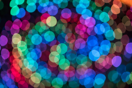 Colorful color light blur bokeh background out of focus