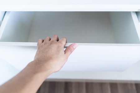 Use Hand Pull Open Drawer