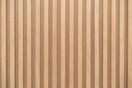 Wood battens wall pattern texture. interior design decoration background
