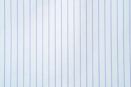 White, lined note, notebook paper background for text.