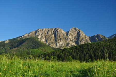 giewont: Tatra mountains Giewont - Zakopane Poland Stock Photo
