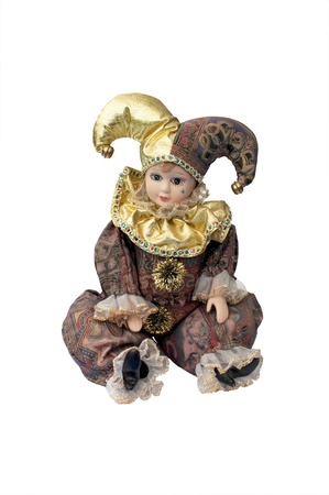 Pierrot Clown Doll - Harlequin