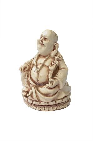 Buddha statue, figur- white background  Stock Photo - 13162992