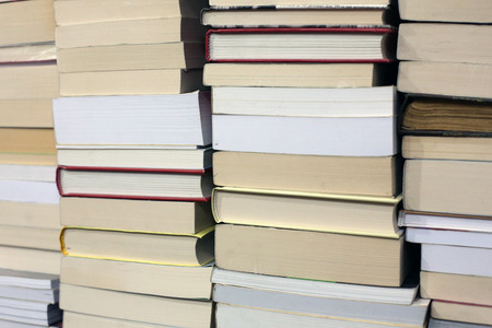 Books texture and background