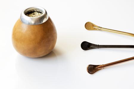 Fresh tasty yerba mate with dedicated accesories