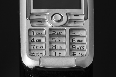 teclado numerico: Teléfono celular numérico antiguo