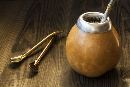 yerba mate, traditional south american drink