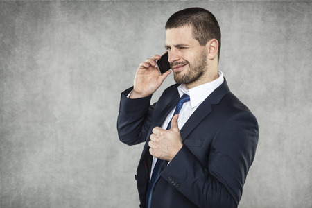 voicemail: thumb up Stock Photo