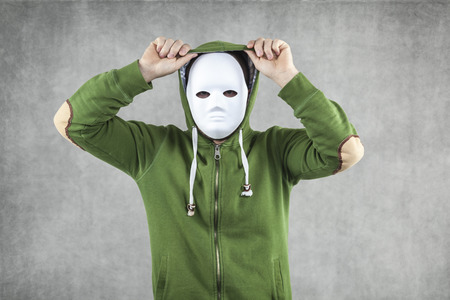 felonious: Dodger in the mask implies the hood