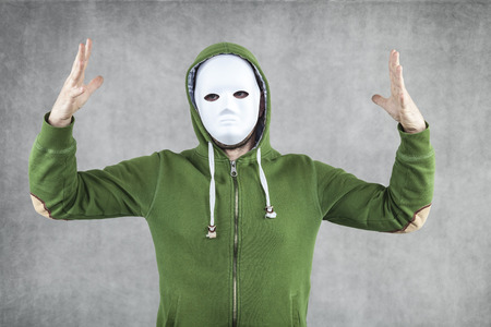 felonious: the guy in the mask calls for the creation of