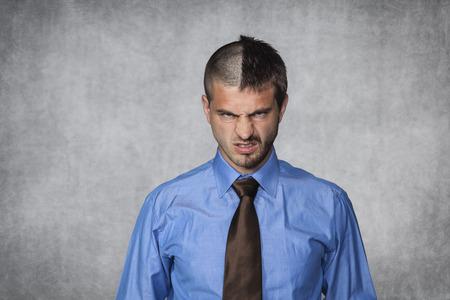 jefe enojado: expresi�n de la cara