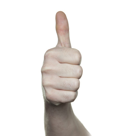 positiv: thumbs up