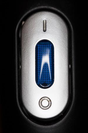 boton on off: desactivar el bot�n Foto de archivo