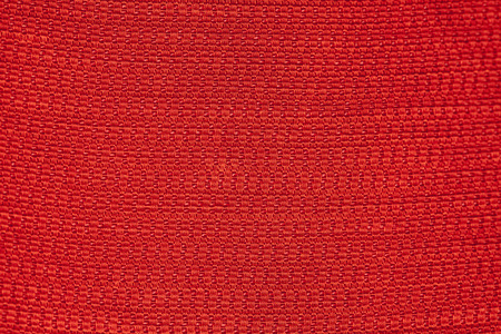 crosshatching: red background fabric