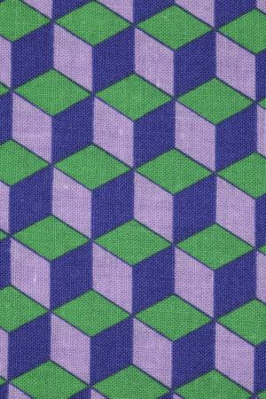 latticed: patterned fabric