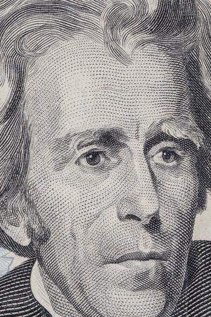 dollaro: Front side of a 20 dollar bill