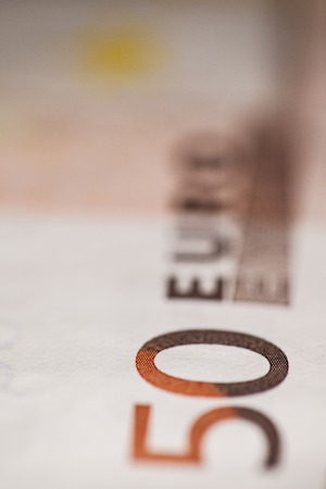 50 euro: bill of 50 euro