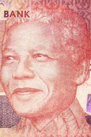 nelson mandela: Nelson Mandela, Portrait on the bill