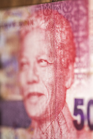 mandela: Nelson Mandela on the fifty Rand from RPA