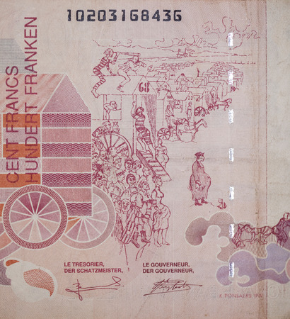 reverse: The reverse of the banknote