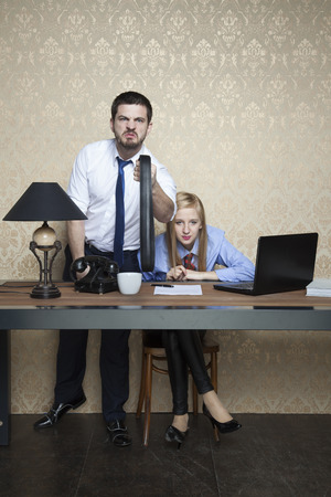 employer: employer intimidates employee