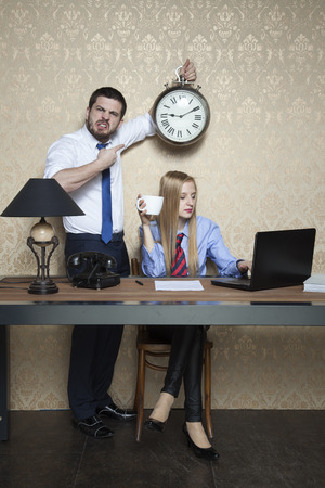 office time: Time is an important thing in business