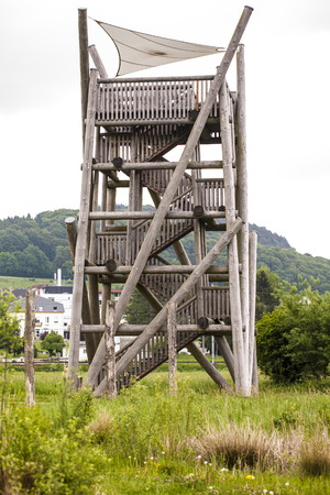 hunters tower: Observation tower Stock Photo