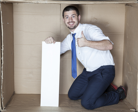 cramped: thumbs up for work in the office
