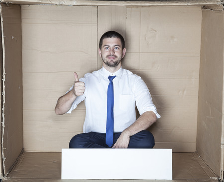 cramped space: thumbs up for small office
