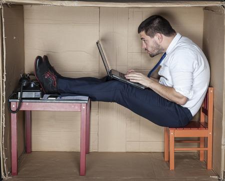 personas trabajando: trabajo duro