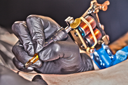 tattooing: tattooing