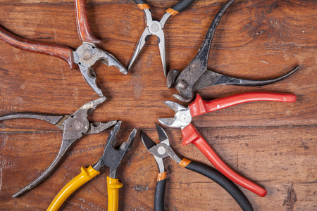 nippers: nippers, pliers and other tools