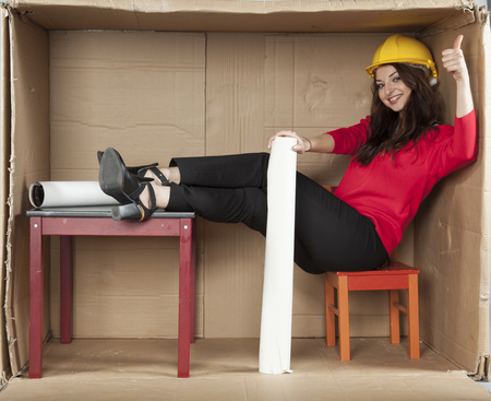 cramped space: thumbs up for architect